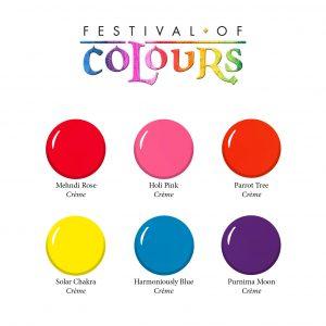 sl colours of festival color chart