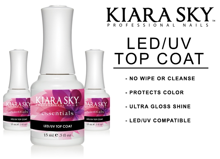 Kiara Sky no cleanse top coat | Nails & Beauty
