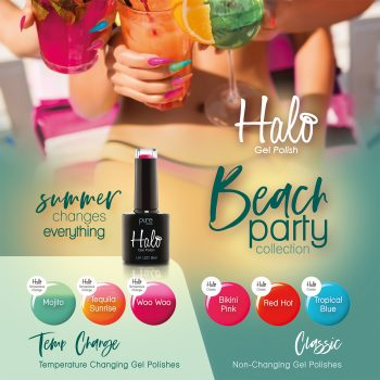 Halo Gel Beach Party Collection
